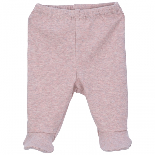 Premature & Newborn Baby Pants With Feet