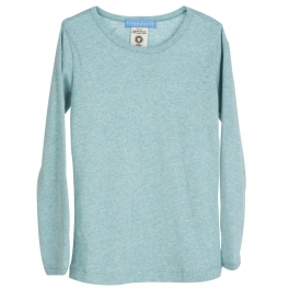 Long-sleeved Soft Tee in Organic Cotton