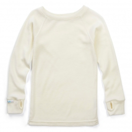 Children's Base Layer Top in Superfine Merino Wool