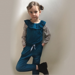 Jumpsuit in Supersoft NZ Merino Wool