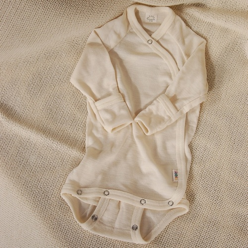 a5979b579 Wrap Baby Body in Silk and Wool with Fold-Over Scratch Mitts Wrap ...
