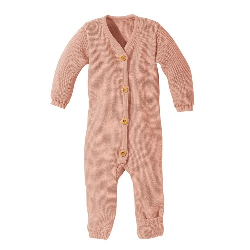 Disana Merino Wool Knitted Overall For Babies