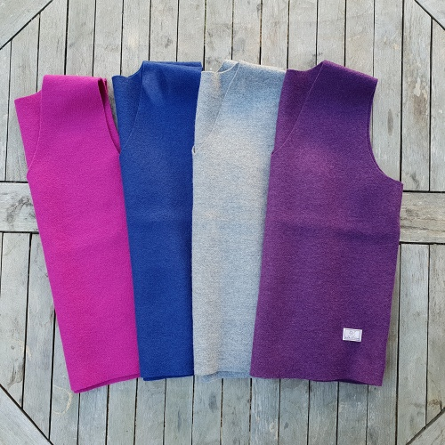 Women's Amazing Boiled Wool Pullover