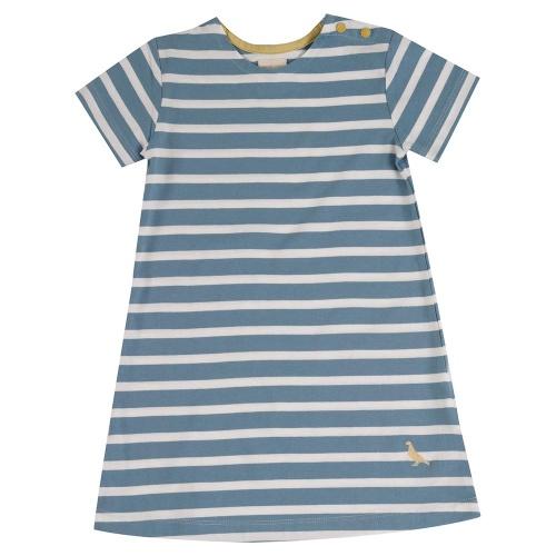 33ba9b7c06d Organic Cotton Breton Stripe Dress