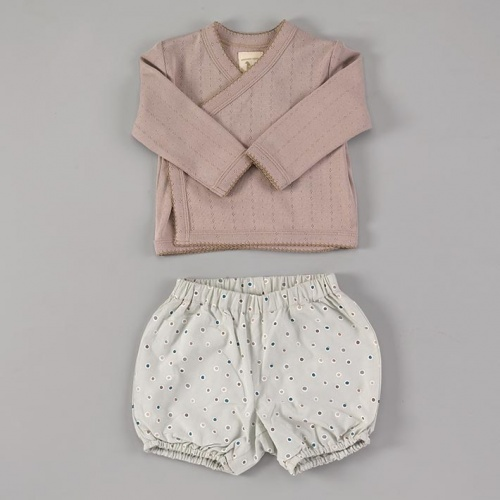Super Cute Organic Cotton Baby Bloomers