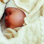 Organic Merino Wool Baby Blanket by Disana