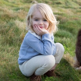Knitted Baby Alpaca Jumper for Kids by Waddler